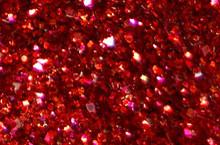 Красный (0,2мм) глиттер