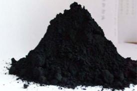 Черный минеральный пигмент, обработанный гидрогенизированным лецитином