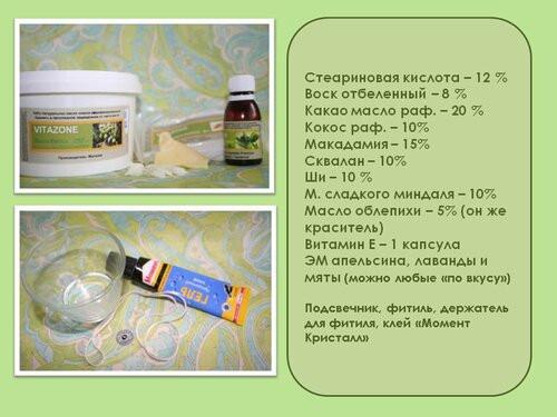Массажная арома-свеча (МАСТЕР-КЛАСС) - slajd2 645065 - 1